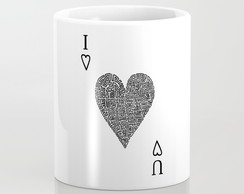 Caneca The Game of Love P&B