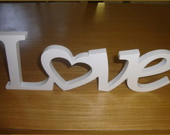 Letra Love Decorativa Mdf 12
