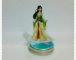 Latinha 3D Mulan (Mint to Be)