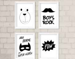 Kit Infantil - Boys Rock