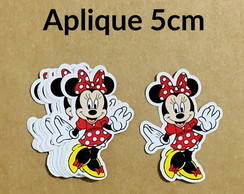 Aplique Minnie Vermelha