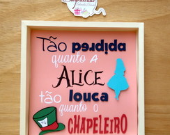 Quadro decorativo Alice