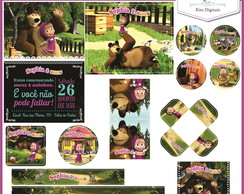 Kit Festa Digital Masha and the Bear