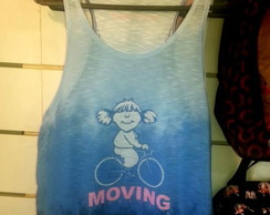 "Camiseta Regata ""Moving"""