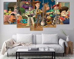 Kit Quadro decorativo Toy story