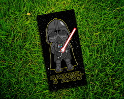 Adesivos Star Wars Darth V Tubetes 8x4cm