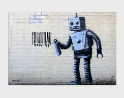 Painel Barcode Robot