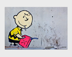 Painel Charlie Brown Gasoline