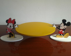 Bandeja Minnie e Mickey