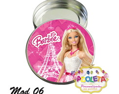 Latinha Barbie Paris