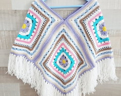 Poncho Candy Square