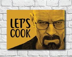 Imã de Geladeira Lets Cook Breaking Bad