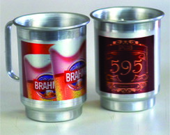 CANECA ALUMINIO 600 ml SUBLIMADA