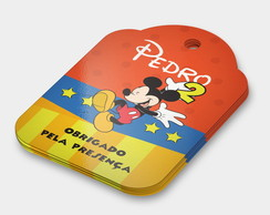Tag Agradecimento Mickey (arte digital)