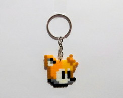 Tails - chaveiro pixel