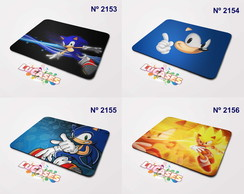 Mouse Pad Sonic Super Sega Game Mousepad