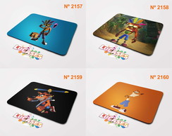 Mouse Pad Crash Bandicoot Game Mousepad