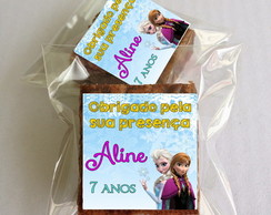 Brownie da Frozen-Recheado
