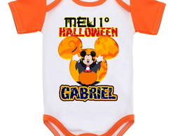 BODY DE BEBÊ HALLOWEN Mickey