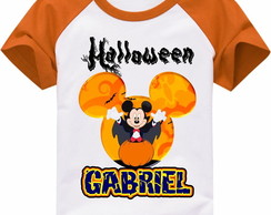 CAMISETA INFANTIL HALLOWEN MICKEY