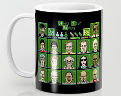 Caneca Breaking Bad - 8Bits