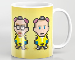 Caneca Breaking Bad - 8Bits Personagens