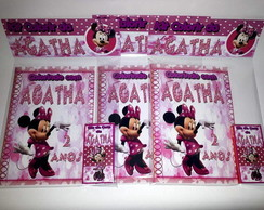 Kit colorir da Minnie