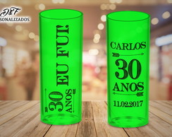 Copos long drink ANIVERSARIO