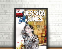 Quadro Jessica Jones / Defensores