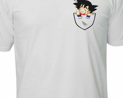 Camiseta goku dragon ball anime mangá