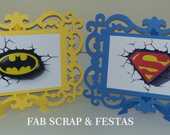 PORTA RETRATO SCRAP BATMAN SUPERMAN