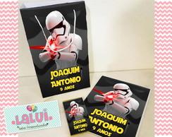 Kit Colorir na Sacola - Star Wars
