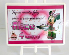 Mini Cavalete de Mesa Minnie