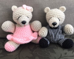 Mini Teddy Bear Casal