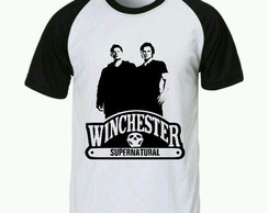 Camiseta Supernatural Raglan