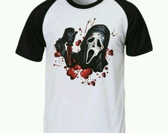 Camiseta Scream Raglan