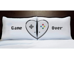 Par de Fronhas Game Over