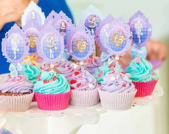 Festa Ever After High - Topper cupcake