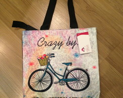Bolsa de Nylon estampa Bike