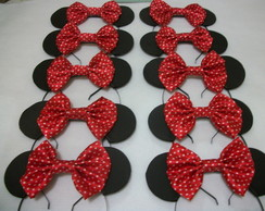 Kit Festa 35 Orelhas Minnie e 20 Mickey.
