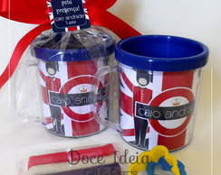 Caneca com Kit Massinha - Londres