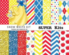 Kit Digital Scrapbook Branca de Neve 11