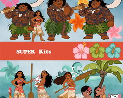 Kit Digital Scrapbook Moana 2