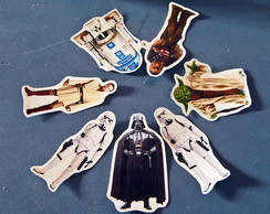 Tags ou Toppers Star Wars