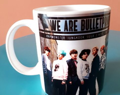 Caneca BTS Kpop - We are Bullet Proof