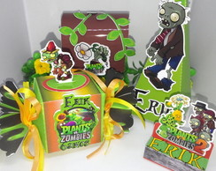 KIT FESTA PLANTS VS ZUMBIES