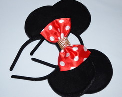 *Kit 2 Orelhas luxo( 1Minnie e 1Michey)
