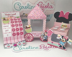 kit confeitaria da minnie