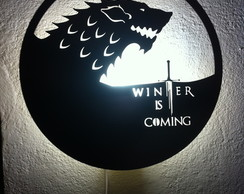 Luminária Game Of Thrones - Stark
