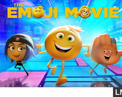 Painel The Emoji Movie 2,00x1,00m